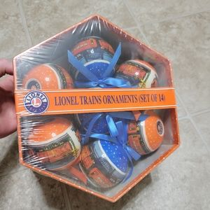 NEW Lionel Train 14 Pack Christmas Ornament 2013